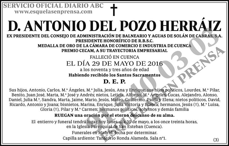 Antonio del Pozo Herráiz